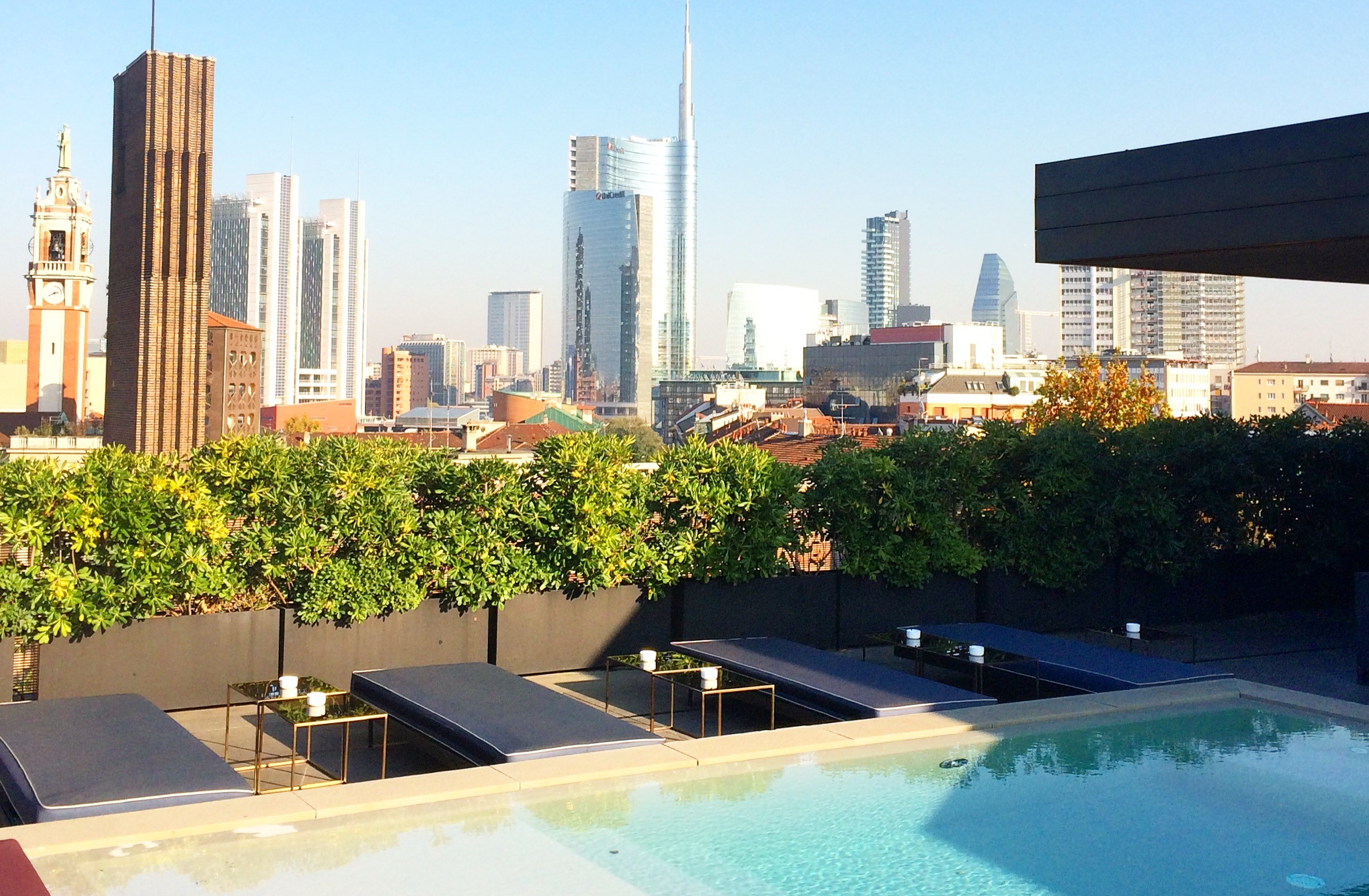 Bars/restaurants with a view in Milan