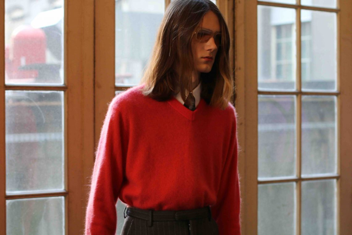 Acne Studios Men's FW17: classic businessman is reborn