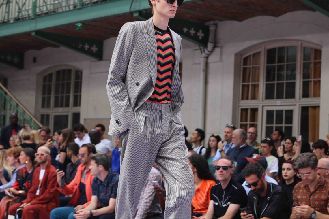 POSITIVE VIBES AT PAUL SMITH SS18