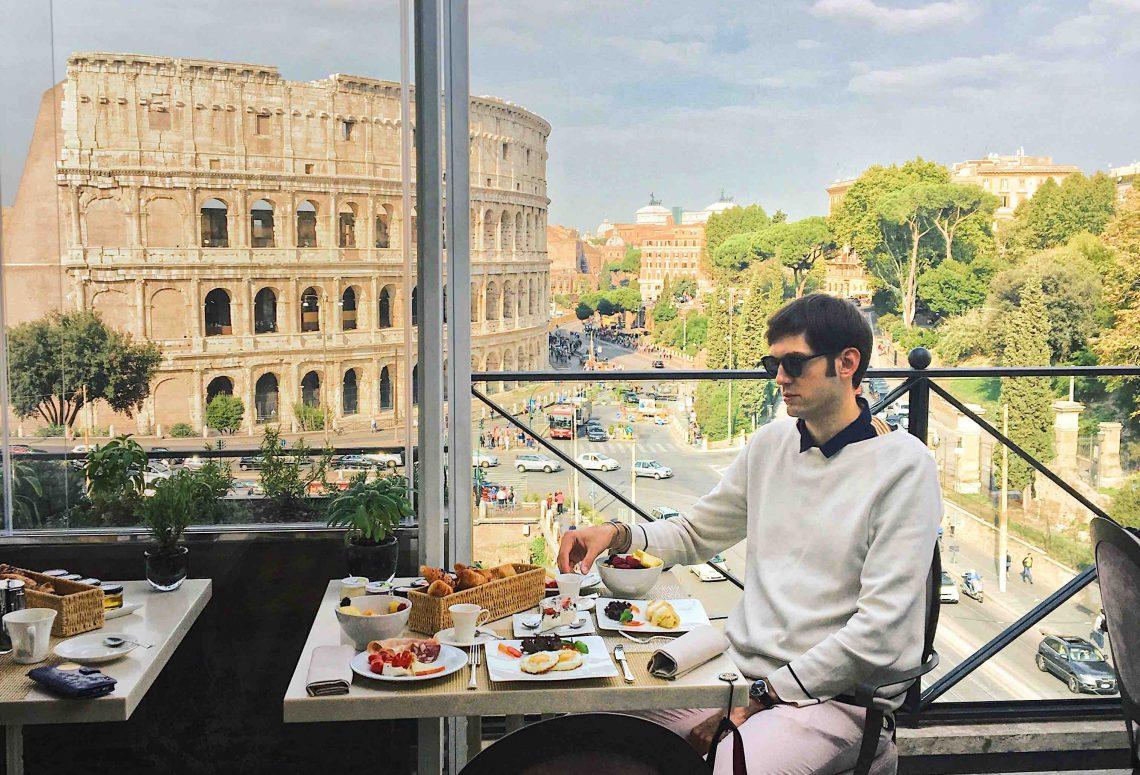 Luxury Roman Holiday Palazzo Manfredi Petar Milano