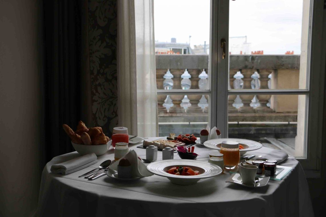 My Paris Fashion Week Stay at Marriott Opera Ambassador